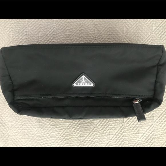 Prada Bags   Black Nylon Toiletry Bag   Poshmark 5f2d63e789